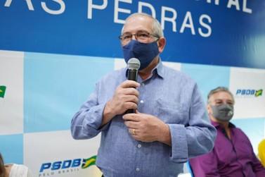 PSDB oficializa candidatura para a reeleição de Carlos Defavari a prefeito