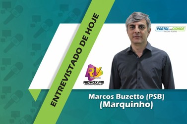 Marquinho é o segundo candidato a Prefeito a ser entrevistado