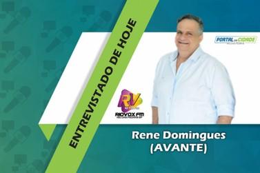 Rene Domingues é o quarto e último candidato a Prefeito a ser entrevistado