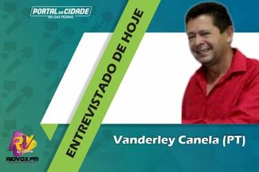 Vanderley Canela é o primeiro candidato a Prefeito a ser entrevistado
