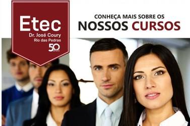 Conheça os cursos disponíveis na Etec Dr. José Coury em Rio das Pedras