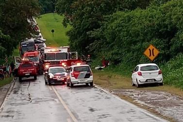 Grave acidente faz vítima fatal em Rodovia de Rio das Pedras
