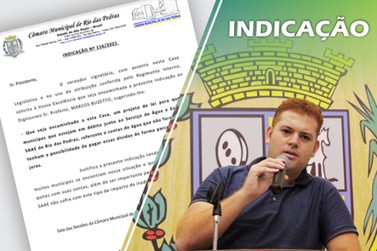 Max Prestes sugere parcelamento sem juros na dívida das contas de água em atraso