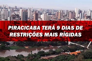 Prefeito de Piracicaba anuncia restrições mais rígidas a partir de sábado (27)