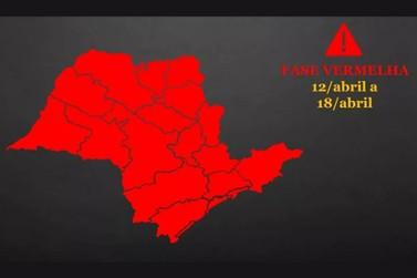 Veja como fica a região de Piracicaba após estado anunciar fase vermelha