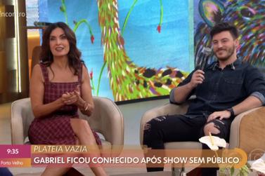Gabriel Smaniotto explica show sem público e vibra com repercussão