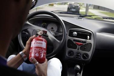 Obrigatoriedade de extintores em carros pode voltar. Entenda!