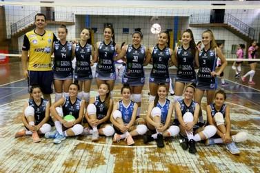 Santa Helena conquista o título da 5º etapa da Copa Lindeiros de Voleibol 2019