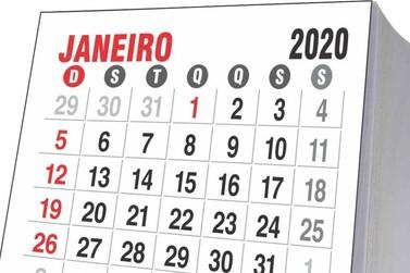 2020 terá 11 feriados nacionais em dias de semana; veja as datas