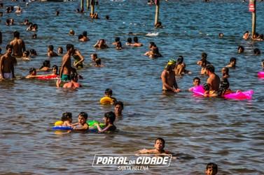 Águas se mantêm próprias para banho no litoral e no interior