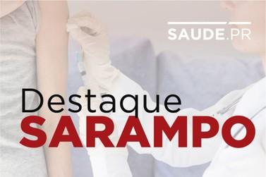 Paraná registra 753 casos de sarampo confirmados