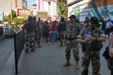 'Paseros' continuam mobilizados na aduana paraguaia