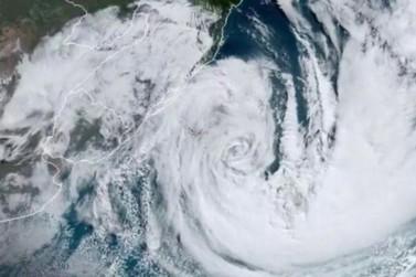 Meteorologistas alertam para risco de novo ciclone no Sul na semana que vem