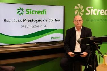 Sicredi Vanguarda realizou prestação de contas on-line