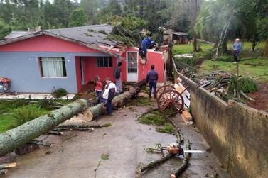 Sobe para 41 o número de municípios afetados por temporal no Paraná