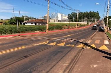 Obras de revitalização da Rua Vereador José Biesdorf em SH entram na reta final