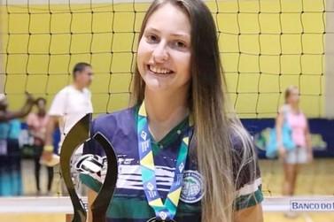 Atleta do Vôlei Marechal é convocada para a Seleção Brasileira