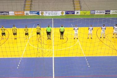 Santa Helena estreia em casa contra o Foz Futsal na Série Bronze