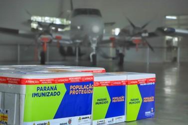 20ª Regional de Saúde de Toledo recebeu mais 13.570 da vacina contra a Covid-19