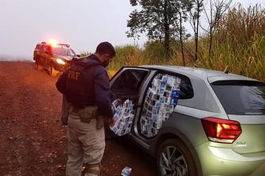 Motorista é preso com 19 mil maços de cigarros ilegais em Vera Cruz do Oeste