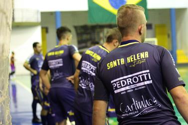 Em jogo que vale a liderança, SH Futsal enfrenta Itaipulândia pela Série Bronze