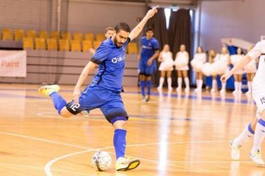 Santa Helena Futsal anuncia contratação do goleiro Bolacha e ala Wanderson