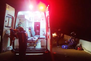 Homem fica gravemente ferido em atropelamento em Santa Helena