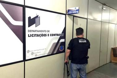 PC mira organização criminosa envolvida em fraudes de licitações de prefeituras
