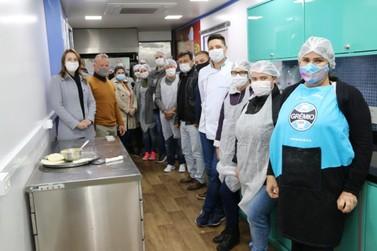 Qualifica Santa Helena forma turmas dos cursos da área de gastronomia