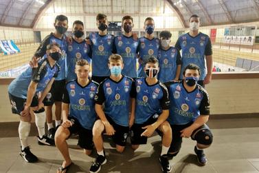 Santa Helena visitou Medianeira em amistoso de voleibol masculino