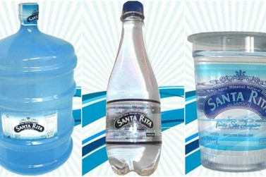Água Mineral Santa Rita passará por processo administrativo e produção