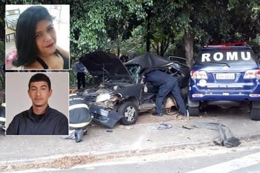 Perseguição policial acaba em acidente e causa morte de mãe e filho