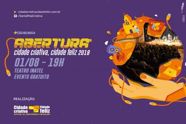 Festival Cidade Criativa Cidade Feliz Santa Rita do Sapucaí tem início em agosto