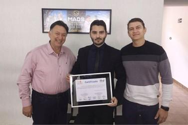 Intef e FAI entregam Certificado de Conclusão para a empresa MADS