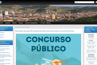 Prefeitura de Santa Rita homologa inscrições e confirma concurso público
