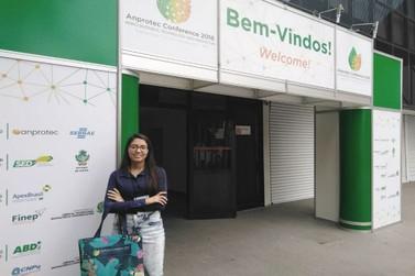 Aluna Administração FAI ministra palestra na 28ª Conferência Anprotec em Goiás