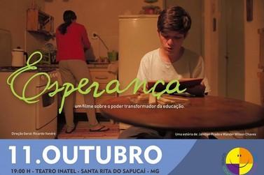 Estreia hoje filme Esperança produzido em Santa Rita do Sapucaí