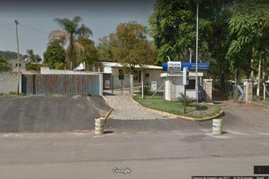Vândalos depredam base da Polícia Militar Rodoviária em Santa Rita do Sapucaí