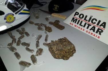 Guarda Municipal e Polícia Militar encontram droga no cemitério de Santa Rita