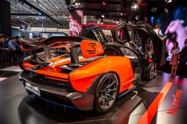 Salão do Automóvel terá Encontro de Supermáquinas