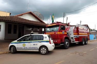 Bombeiros e Guarda Civil Municipal são alvos de trote em Santa Rita do Sapucaí
