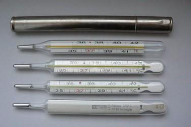 Está proibida a comercialização de termômetro e medidor de pressão com Mercúrio