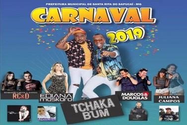 Banda Tchakabum será uma das atrações do carnaval de Santa Rita do Sapucaí