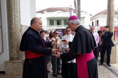 Arcebispo de Pouso Alegre inicia missão pastoral em Santa Rita do Sapucaí