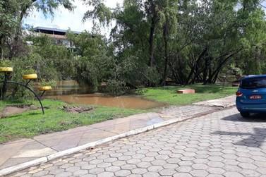 Rio Sapucaí alcança 3,1 m e segue sob monitoramento da Defesa Civil de Sta Rita