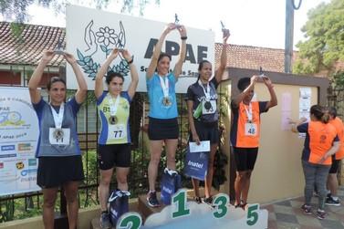 Centenas de atletas participaram da 3ª Corrida e Caminhada da APAE 2019