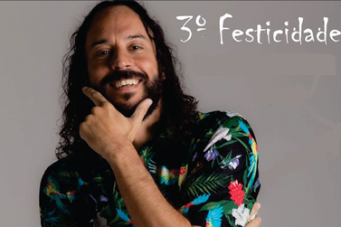 Gabriel O Pensador é atração confirmada no 3º FestCidade em Sta. Rita do Sapucaí