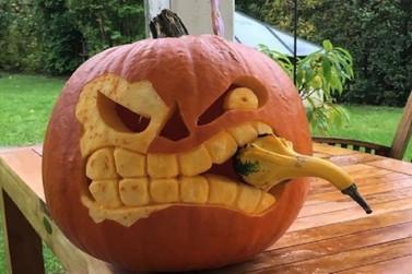 Coluna da Roni: Decoração com frutas para a festa de Halloween