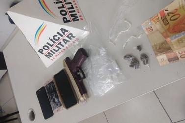 Dois jovens são presos por tráfico de drogas na Juca Castelo em Santa Rita