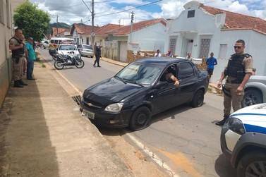 Perseguição e tiros na Rua Antônio Telles em Santa Rita do Sapucaí